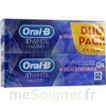 Acheter oral b 3d white luxe lot de 2 à Auterive
